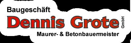 Logo / Baugeschäft Dennis Grote GmbH, Maurer- & Betonbauermeister aus Cuxhaven